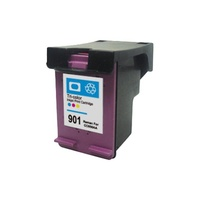 #901XL Colour Remanufactured Cartridge (New Chip)