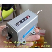 Mechanical 5 Digit Rotation counters - 5 digit - each
