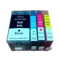 920XL Compatible Inkjet Set 4 Cartridges