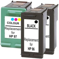 #96 Compatible Inkjet Cartridge Set #2 3 Cartridges