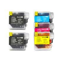 LC38 LC67 Compatible Inkjet Cartridge Set 5 Ink Cartridges