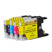 LC73XL Compatible Inkjet Cartridge Set 4 Ink Cartridges LC40 LC73 for Brother