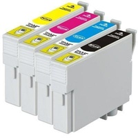 Epson 138 Set of 4 colours Compatible Inkjet Cartridge Black Cyan Magenta Yellow