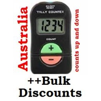 Tally Counter Palm 2 button up and down 1-9999 Electronic (battery) down 4 digits