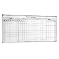 School Planner 4 term 2400 x 1200mm Laminated graphic surface VDT003 -