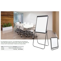 Flipchart Easel Magnetic Whiteboard 862x660 Universal Stand VFC003 Trainings and Presentations