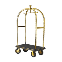 Birdcage Porters Trolleys Professional Titanium Gold, -