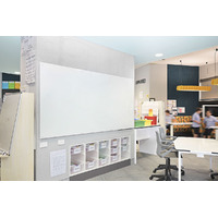 Magnetic Glassboard White Glass 1200 x 900 VGB1290 - each