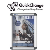 A4 Size Snap Frame - 360x270mm - 25mm Poster Frame - each (minimum buy is 2)