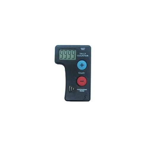 Tally Counter (A2) battery Hand 1-9999 Manually count up and down