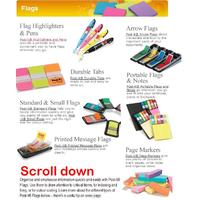 Post it Flags & Pagemarkers