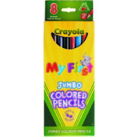 Pencil Crayola Full Length My First Pencil 684111 Pack 8