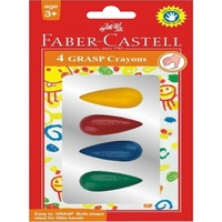 Crayon Faber Grasp Bulb Shape Pack of 4
