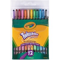 Crayon Crayola Twistable 527412 - pack 12