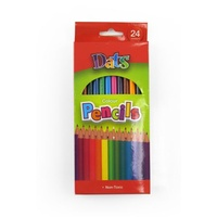 Coloured Pencils 24s Long - pack 24 Dats 51754