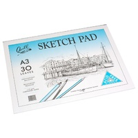 Sketch Pad A3 30 Leaf PSCA33 Quill 300x420mm pack 5