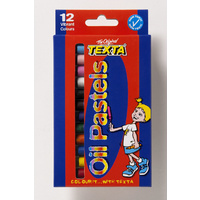 Pastel Oil Texta TX102/12 Pack 12 Regular