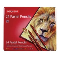Derwent Pencil Pastel R32992 Derwent tin 24