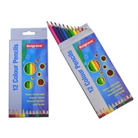 Pencils Coloured Pencils Belgrave 12s full pack 12