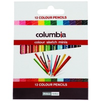 Pencil Columbia Coloursketch Half size 10 packs of 12 620012ASS
