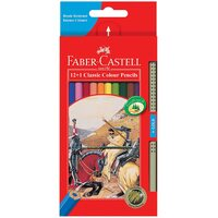 Pencils Coloured Pencils Faber Classic Full length 17cm 115852 - pack 12