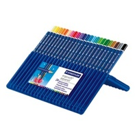 Coloured Pencil Watercolour Aquarell 156 Watercolours 156SB24 pack 24 Staedtler Ergosoft