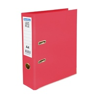 Lever Arch Binder A4 PVC Beautone Hibiscus/Rose Pink Plastic 29630