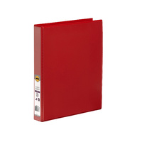 Insert Binder A4 2/26/D Clearview Marbig Red 5402003B