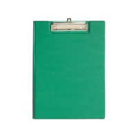 Clipfolder FC PVC Green with flap Marbig 4300504