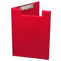 Clipfolder FC PVC Red Single Pocket Marbig 4300503