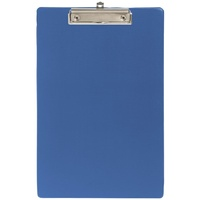 Clipboard FC Marbig PVC 4301001 Blue no flap foolscap