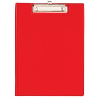 Clipboard FC Marbig PVC 4301003 Red no flap foolscap