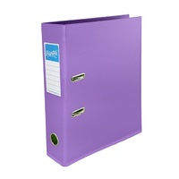 Lever Arch Binder A4 PVC Bantex Lilac 70mm 145021 Plastic LeverArch files folders Binders