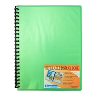 Display Book A4 Beautone 20 Pocket Cool Frost 31853 Green