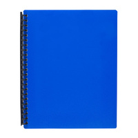 Display Book A4 Marbig 40 Page Blue Refillable 2007401