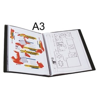 Display Book A3 20 Black Insert cover Non Refillable 2008802 Marbig