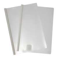 Clear Cover File With Spine A4 Colby 202A Clear