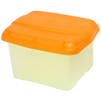 Suspension File Box Porta Crystalfile Summer Colours Orange 8008406 Store and transport suspension files with ease.