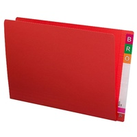 Shelf Lateral File STD FC 45113 box 100 Red Extra Heavy Weight 35mm expansion