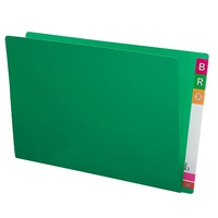 Shelf Lateral File STD FC 45313 box 100 Green Extra Heavy Weight 35mm expansion