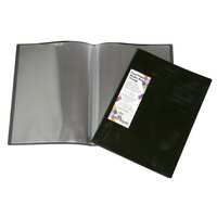 Display Book A4 Colby 10 Page Harlequin H253A10 Black