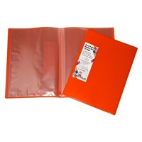 Display Book A4 Colby 10 Page Harlequin H253A10 Orange