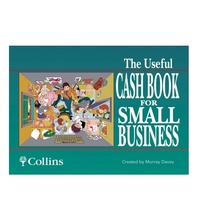 The Useful Business Cash Book GST and Non GST Collins 10400 - each