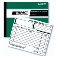 Order Books Impact A5 Duplicate Carbon PC070