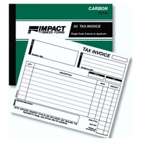 Invoice Statement Books Impact A5 Duplicate PC140