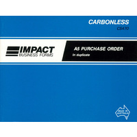 Purchase Order Books A5 Duplicate Impact CS470 Landscape each