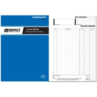 Invoice Statement Books A4 2 money column Triplicate CS610