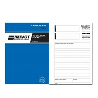 Delivery Docket Books Carbonless Impact 210x145 TRIPLICATE CS535 - each