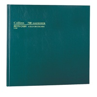 Account Book 700 series 4-9 Petty Cash Collins 13280 - each
