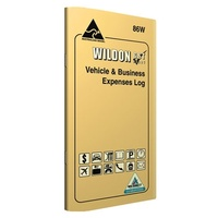 Log book Wildon Vehicle business Expense WIL086 - each